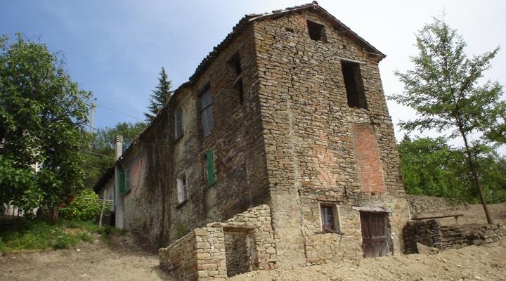 Casa di cavatore prima dei lavori giuseppe morbelli for 3 case in pietra
