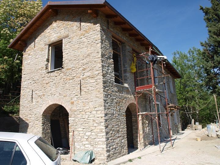 Casa di bistagno giuseppe morbelli - Casa in muratura portante ...